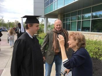 So much love Grandma and Hudi