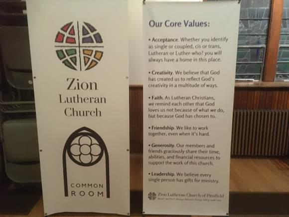 Zion Lutheran Core Values