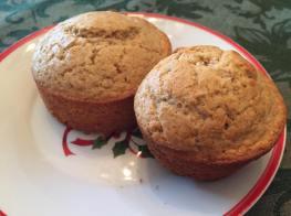 Cardamom muffins
