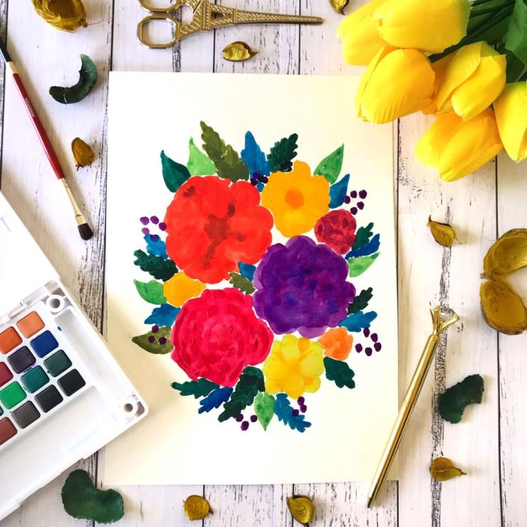 Watercolour Floral