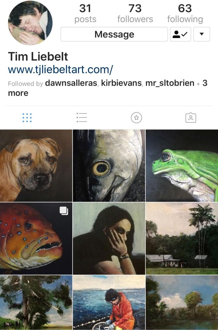 Tim Liebelt on Instagram