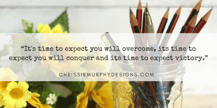 Quote by Chrissie Murphy Designs