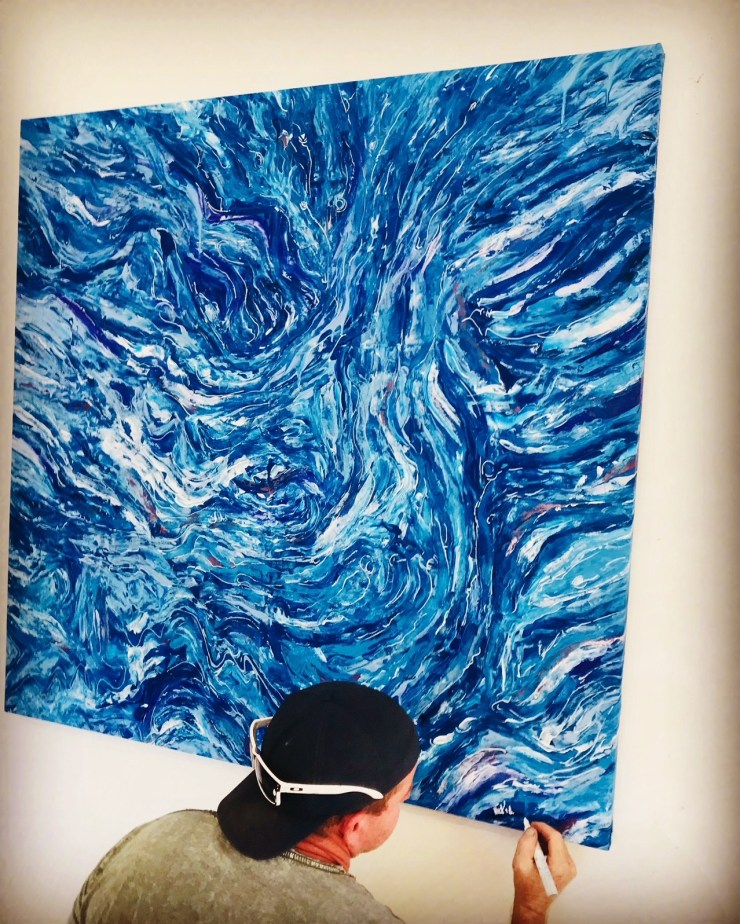"""""""Blue Temper"""" by Nick Hoops"""