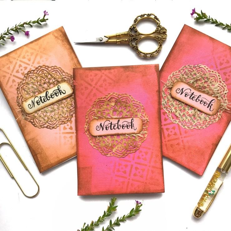 Papercraft notebooks