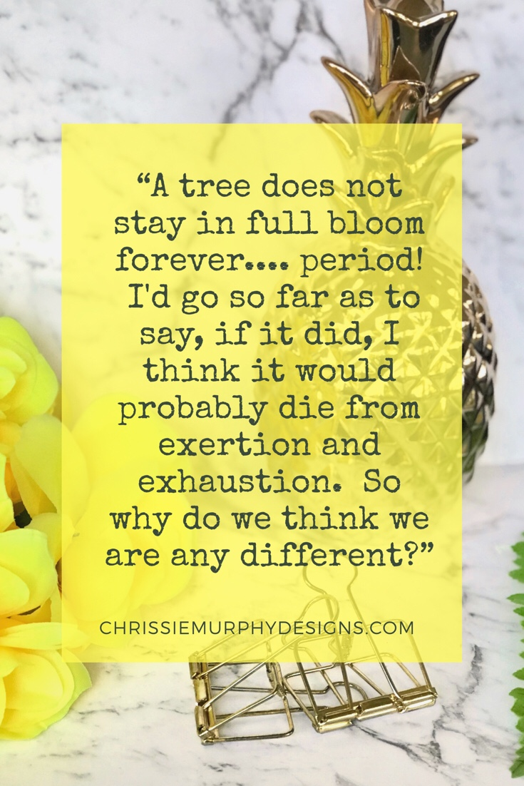 Quote by Chrissie Murphy Designs on seasons as a creative