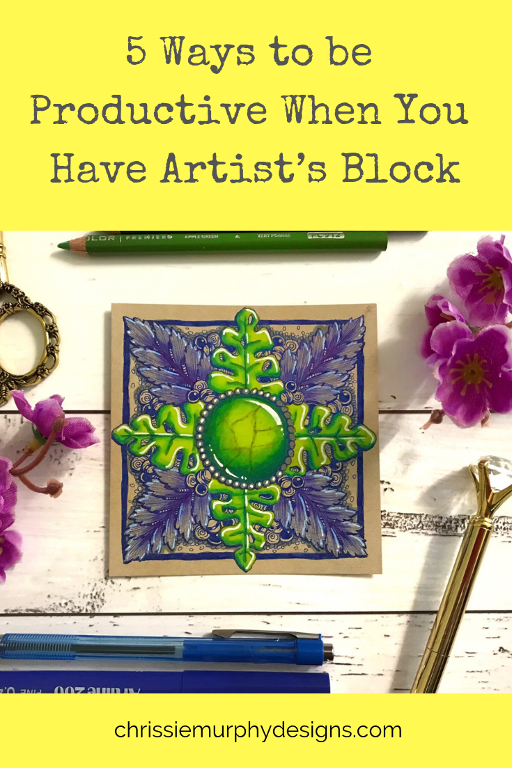 5 Ways to be Productive when you have Artist's Block