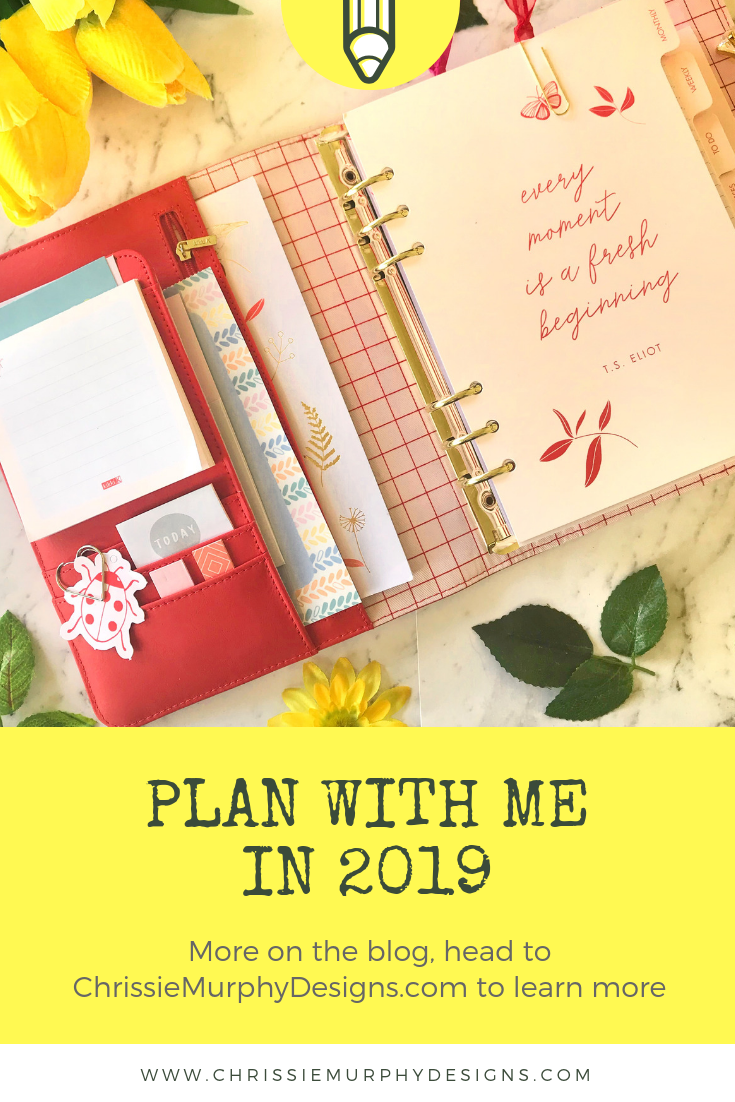 Plan with me in 2019!