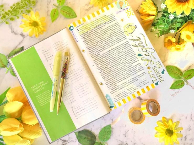 Bible Journalling by Chrissie Murphy Designs