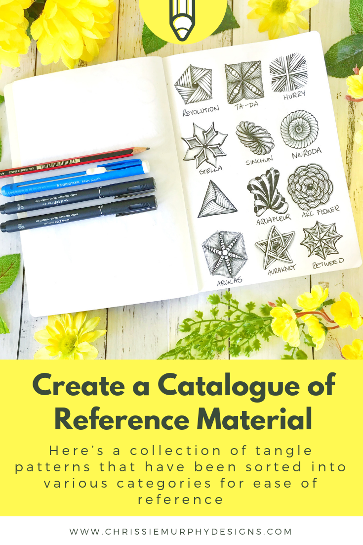 Create a catalogue of Reference Material
