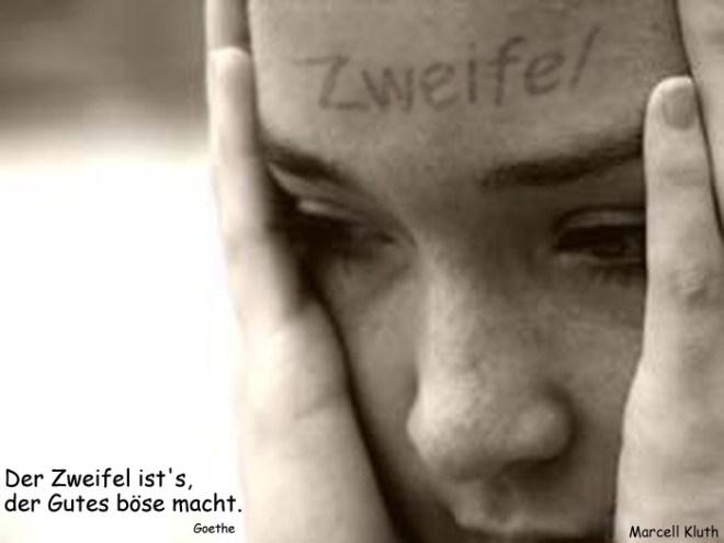 Zweifel on forehead