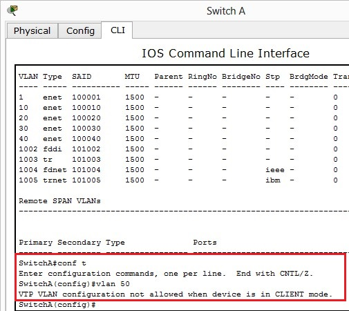 Cisco ICND2 - Configure, verify, and troubleshoot VTP