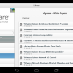 VMware Mobile Knowledge Portal iPhone/Android Tablet app