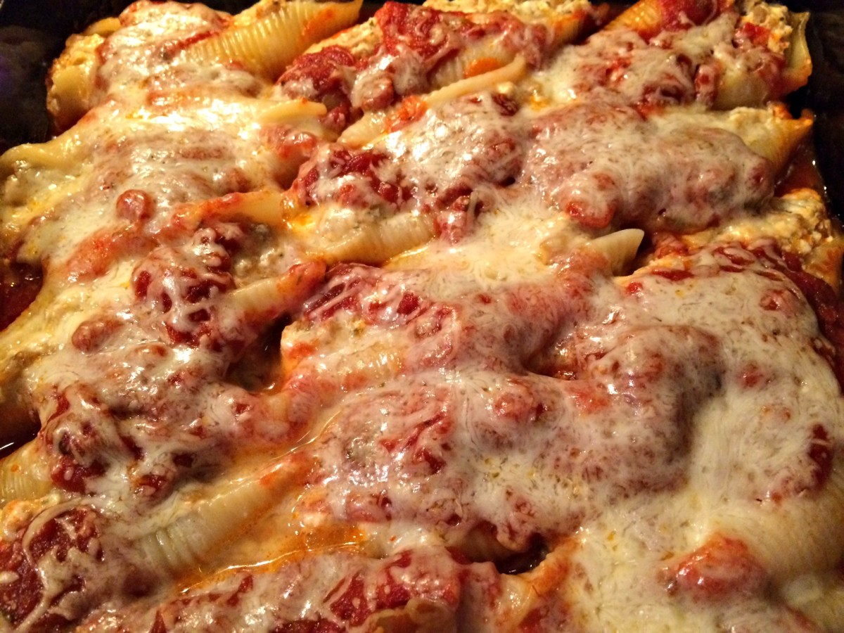 Roasted Vegetable Stuffed Shells