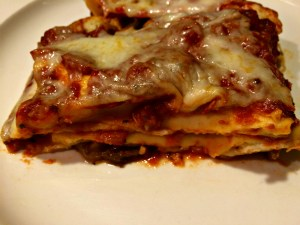 Meatless Monday Roasted Vegetable Lasagna