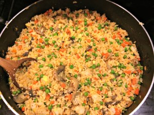 Meatless Monday Vegetarian Thai Fried Rice