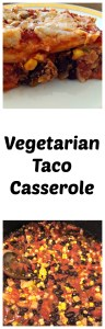 Meatless Monday Vegetarian Taco Casserole