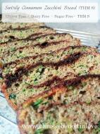 Swirly Cinnamon Zucchini Bread