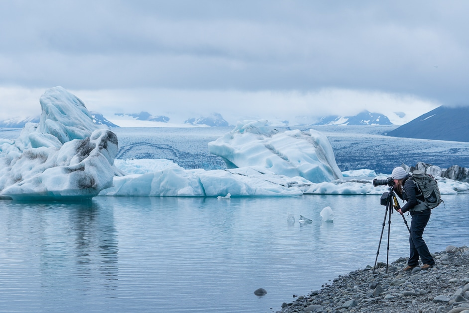 Landscape and Nature Photographer Chrissy Donadi in Iceland