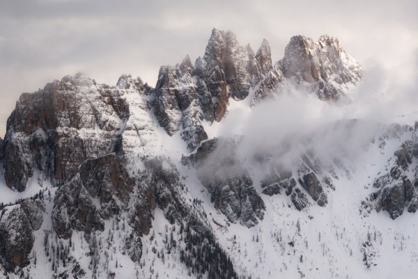 Winter in the Italian Mountains by Chrissy Donadi