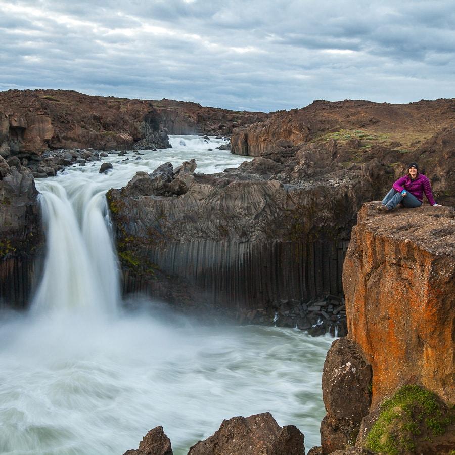 Landscape Photographer Chrissy Donadi in Iceland