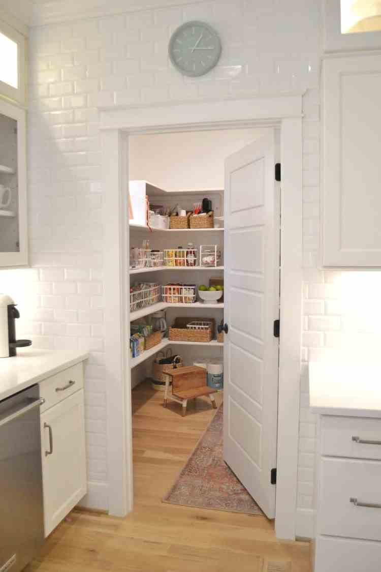 Our Walk In Pantry Organization Kitchen Drawers Chrissy Marie Blog