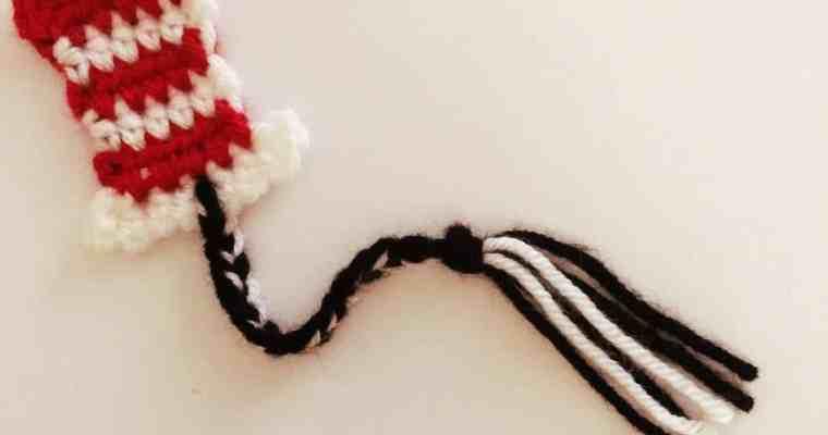 Crochet Dr. Seuss Inspired Bookmark