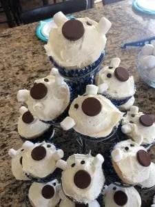 polar bear birthday party