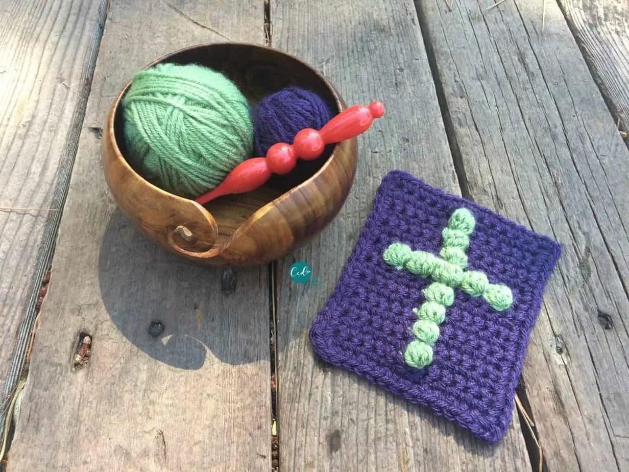 Pocket Prayer Cloth Free Crochet Pattern