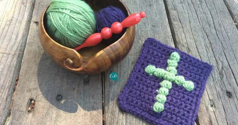 Pocket Prayer Cloth Free Crochet Pattern