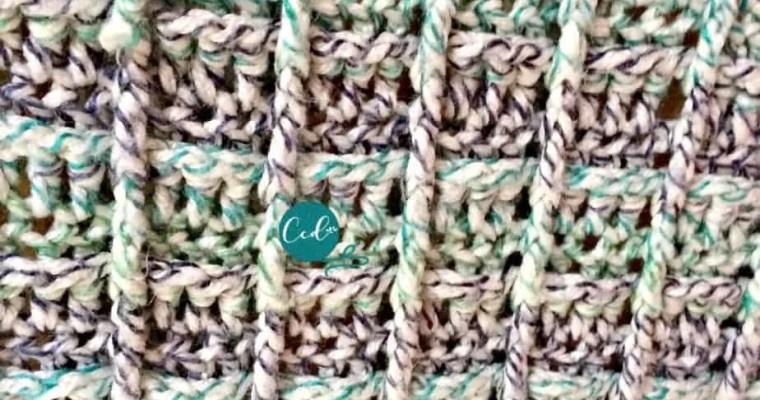 Front Post Double Crochet Video & Photo Tutorial
