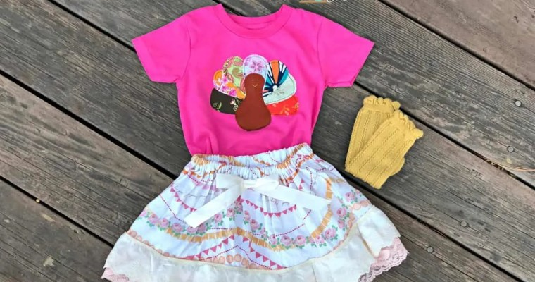 Turkey Shirt Applique Sewing Tutorial