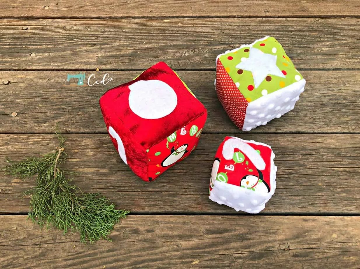 Baby Christmas Blocks Sewing Pattern Review
