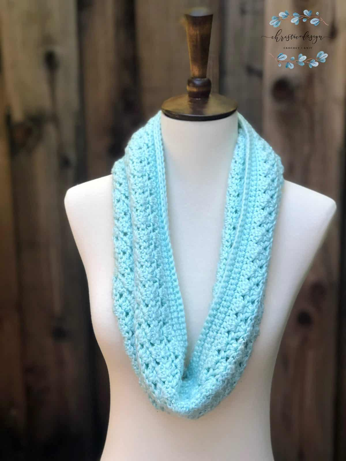 Two Way Cowl Free Crochet Pattern