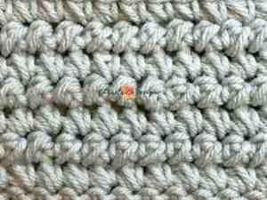 mini bean stitch