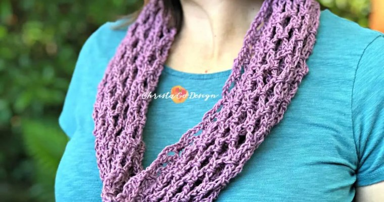 Archwork Cotton Crochet Cowl Free Pattern