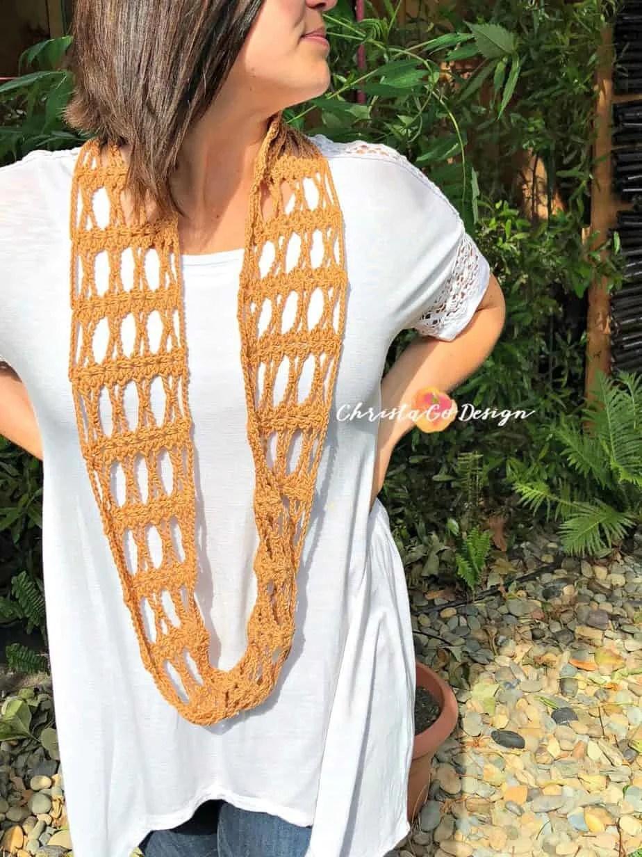 Incrocio Crochet Cowl Tutorial & Pattern