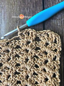 iris stitch crochet tutorial