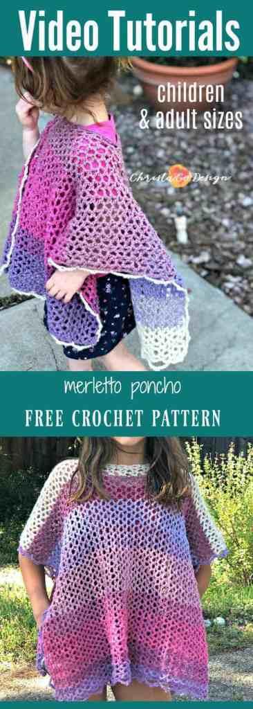 poncho free pattern