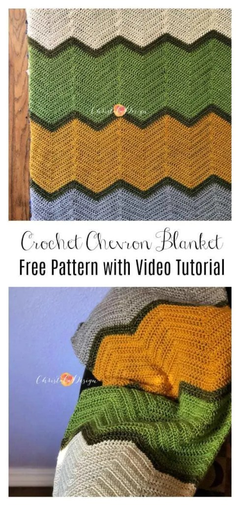 crochet chevron