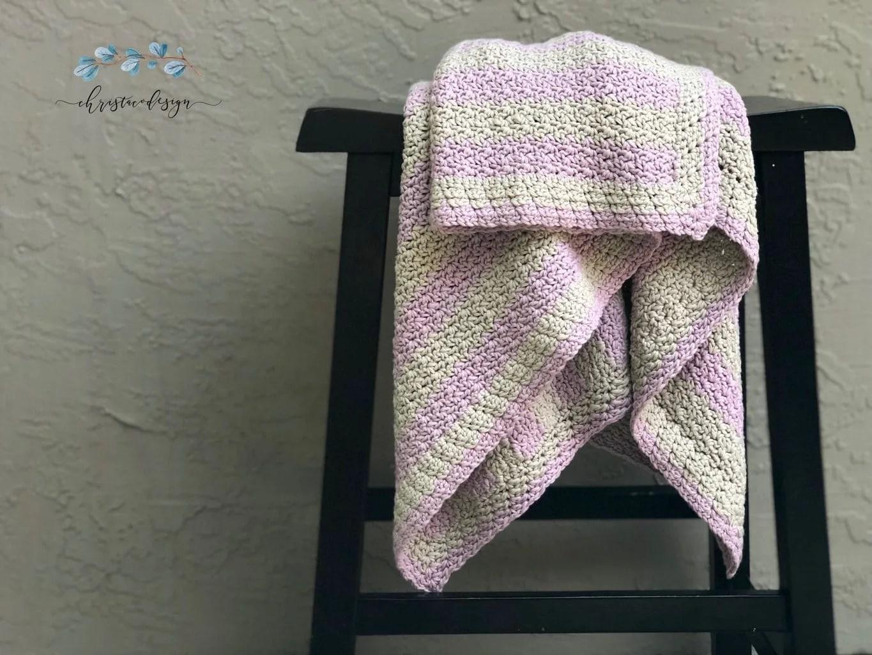 Eileen Blanket a Free Crochet Pattern