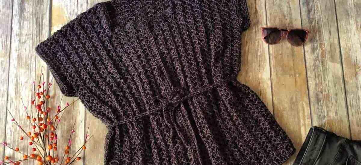 Sorella Cardigan a Free Crochet Pattern