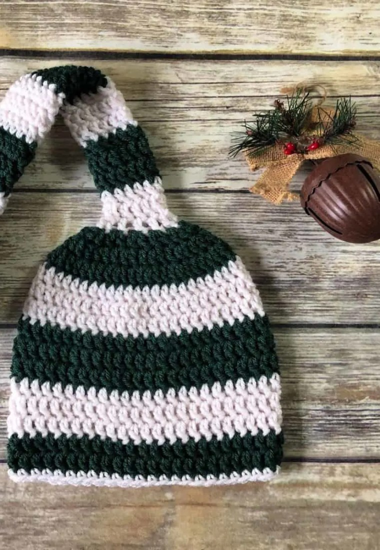 Long Tail Stocking Hat a Free Crochet Pattern