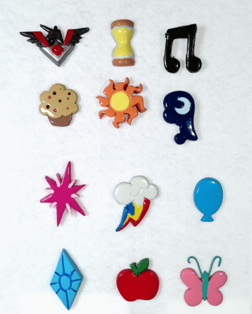 Cutie Mark pins/magnets