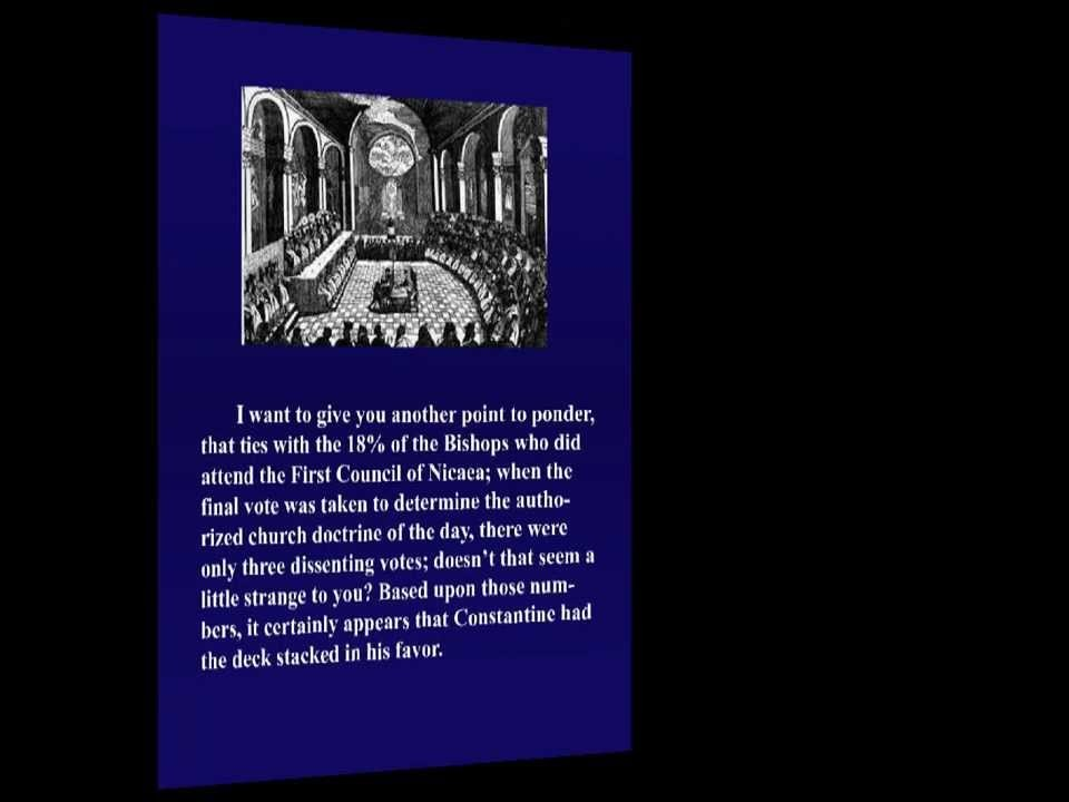 Constantine & His Evil Influence On Christianity