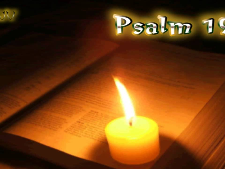 (19) Psalm 19 - Holy Bible (KJV)