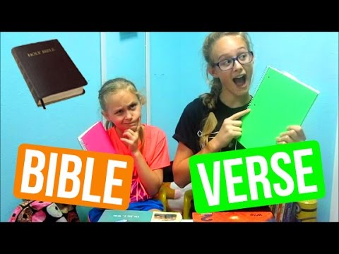How To Learn A Bible Verse In 2 Minutes - Elle'n'Elou