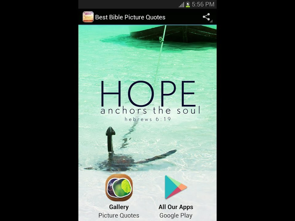Best Bible Picture Quotes Mobile App for Android Devices