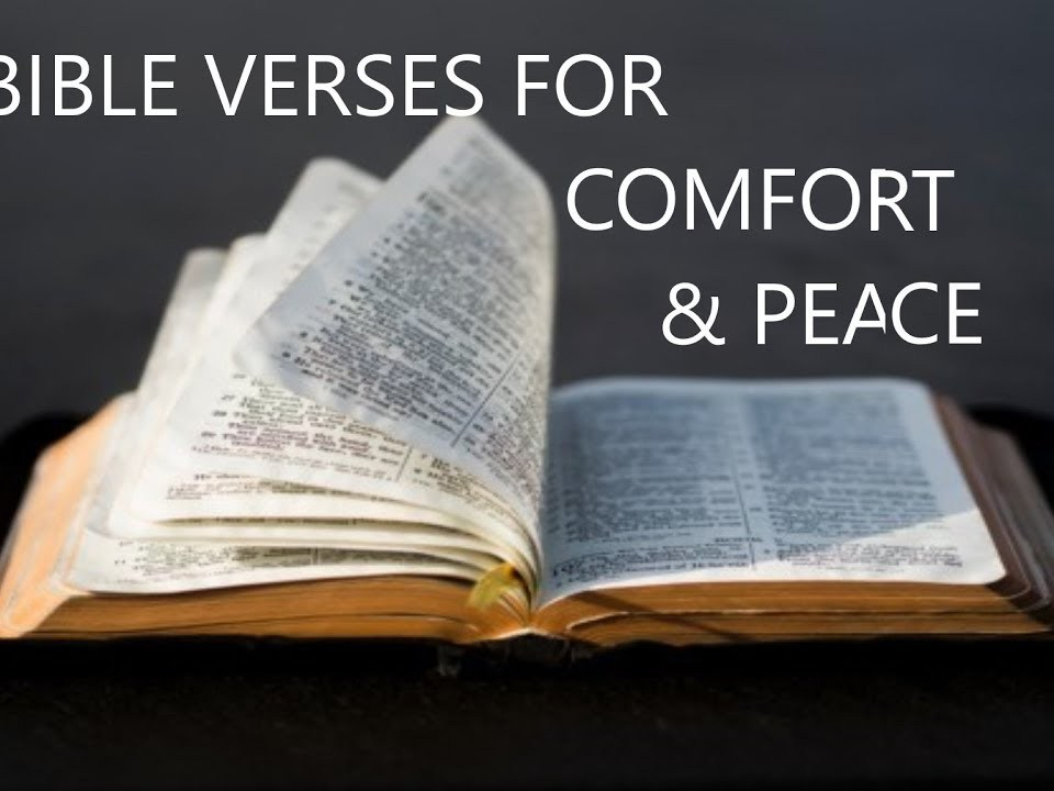 Bible verses for healing comfort and Peace, Soaking in Scripture (Audio Bible)