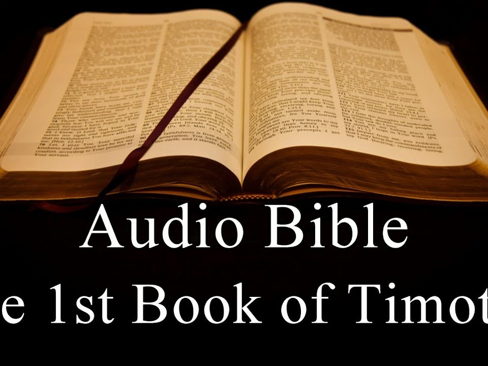 The First Book of Timothy  - NIV Audio Holy Bible - High Quality and Best Speed - Book 54