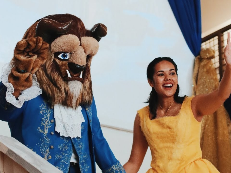 Beauty And The Beast Comes to Life in A Church!